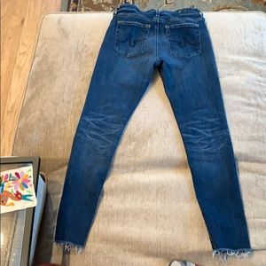AG Jeans The Farrah Skinny Ankle size 28